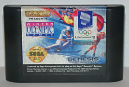 SEGA GENESIS - WINTER OLYMPIC GAMES Lillehammer '94 (Game Only) - $5.75