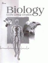Biology God's Living Creation (Quiz Teacher Key) [Paperback] A Beka Books - $8.00