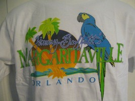 NWT Margaritaville Jimmy Buffett's Parrothead T-Shirt White Small Orland... - $16.82