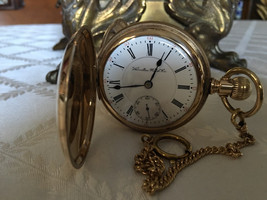 Antique Hamilton pocket watch 927 Hunting movement Lancaster Pennsylvania USA 19 - $595.00