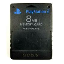 SONY PlayStation2 PS2 8MB MagicGate Memory Card N1158 - Black - $11.34 CAD