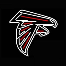 "Atlanta Falcons American Football Real Glass Neon Light Sign 17""x14"" - $95.00"