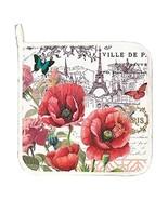Michel Design Works Toujours Paris Cotton Potholder - $10.50