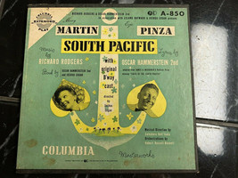 South Pacific Columbia Masterworks Extended Play 4 Record Box 45 RPM A-850 - $19.28