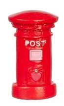 Dollhouse Miniature - Red British Mail Post Box - $6.99