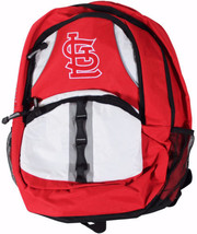 NEW ST LOUIS CARDINALS Captain BACKPACK School Tablet Book Bag MLB Baseb... - $32.71