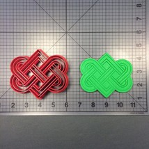 Celtic Love Knot 100 Cookie Cutter - $5.00+