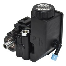 Power Steering Pump GM Aluminum Type II with Integral Reservoir (Black) image 2