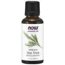 NOW FOODS 100% Pure Tea Tree Oil 1 oz (30 ml) Melaleuca alternifolia Made In USA - $18.86