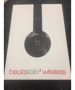 Beats by Dre Beats Solo 3 Wireless Black Headphones New - $129.99