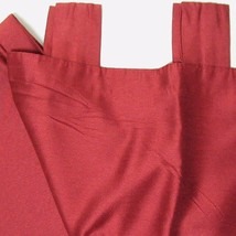 JCPenney French Cabernet Solid Red 2-PC Lined Tab-Top Drapery Panel Set(s) - $38.00