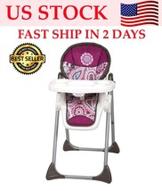 Baby Trend Sit Right High Chair Portable Booster Seat Toddler Openbox Fa... - $49.54