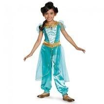 Disguise Principessa Jasmine Lusso Aladino Disney Ragazze Costume Halloween - $43.20
