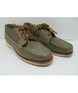 Red Wing Shoes MisMatch 8.5-9 E. Green Leather Mens Suede - $28.42
