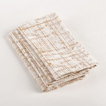 Fennco Styles Crosshatch Dinner Napkin, Set of 4 - $24.74