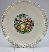 "Vintage Homer Laughlin Rhythm Pattern Luncheon Plate 9.25"" Collectible C... - $11.99"