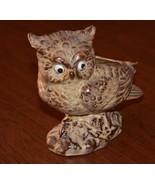 Caffco Owl Brown Planter Japan Vintage #E3241 - $12.00