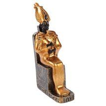 Egyptian Small Osiris Mini Figurine Made of Polyresin - $9.89