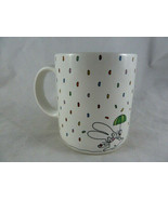 Vintage Hallmark smile Rabbit Mug Coffee Cup made in Japan - $11.87