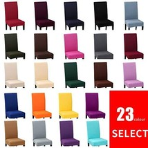 Stretch Dining Chair Covers Slipcovers Removable Chair Protective Covers... - $19.80