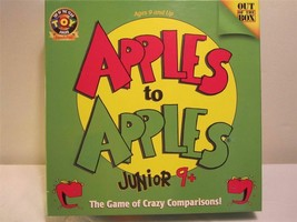 Apples to Apples Junior 9+ Game Crazy Comparisons by Out of the Box Comp... - $9.85