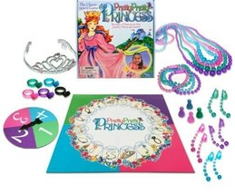 Pretty Pretty Princess Classic Board Game Role Playing Games Dress Up Ki... - $18.00
