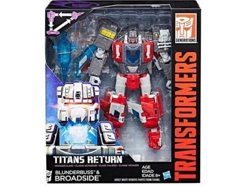 Transformers Generations Titans Return Voyager Broadside & Blunderbuss