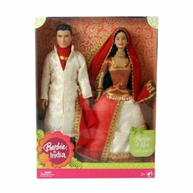 Barbie Barbie and Ken in India Wearing indian costume Design & Color may... - $37.17