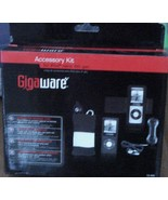 Gigaware Accessory Kit - Black - For iPod nano 4th Generation - BRAND NE... - $26.72
