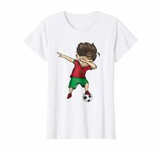 Dad Shirts - Dabbing Soccer Boy Morocco Jersey Shirt - Moroccan Football... - $19.95+