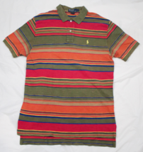 Polo By Ralph Lauren Mens Short Sleeve Polo Shirt Size Large - $24.74