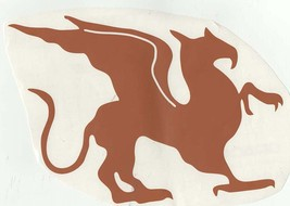 griffin brown decal ideal cars, trucks, home etc easy to apply