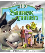 Shrek the Third (Two-Disc Blu-ray 3D + DVD Combo) Brand New - $29.75