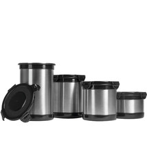 Stainless Steel Food Storage Containers Snap Down Airtight Lids 2,3,4 & ... - $17.98