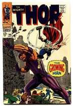 Thor #140 comic book 1967- Marvel Silver Age- Growing Man VF - $59.60