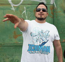 ICEMAN T-shirt retro marvel comics Spider-man and his amazing friends tee shirt image 3