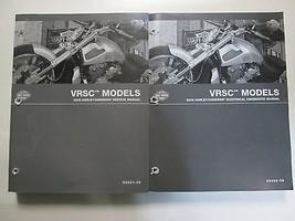 2009 Harley Davidson Vrsc Réparation Shop Manuel Ensemble W Électrique Livre - $208.68