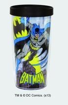 DC Comics 16 oz. Batman Character Image Double Wall Acrylic Tumbler, NEW... - $7.84