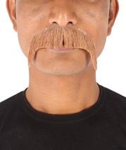 Men's Standard Mustache Set Brown Cosplay Facial Hair M-1441 - £14.96 GBP