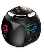 ELRVIKE 4K 360 Action Camera Wifi Mini(Black with 8G) - $103.26