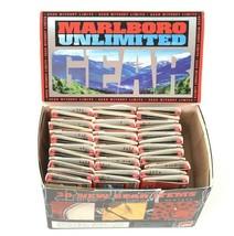 Vintage Case Box of 74 Marlboro Unlimited Gear Cigarette Matches - $76.23