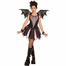 Sweetheart Bat Halloween Costume with Wings Adult Size XS 2-4 New - $19.75