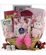 Welcome Home: Baby Girl Gift Basket - $149.99
