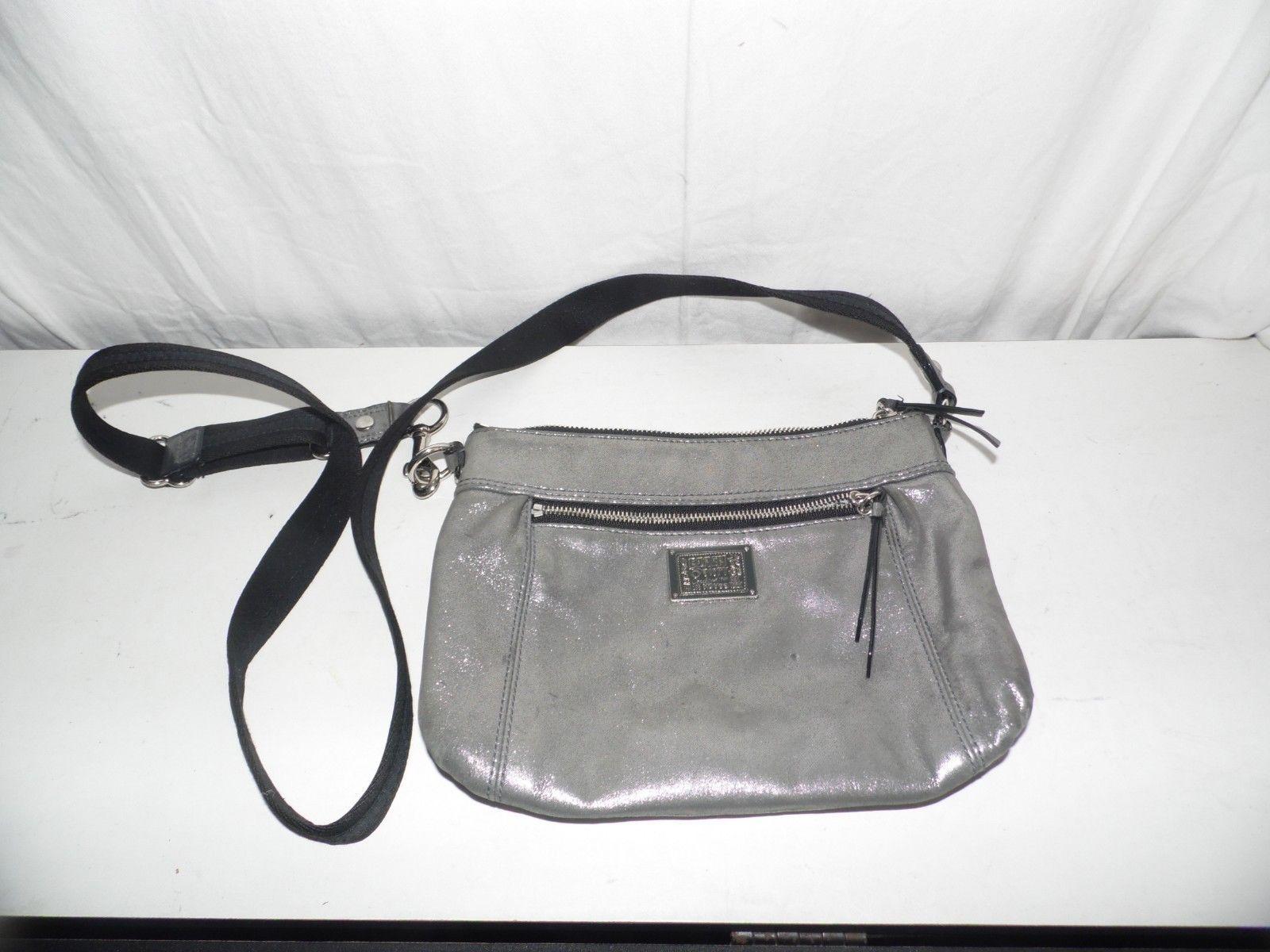 Coach Poppy Pewter Crossbody Handbag Purse and 37 similar items. 57 7c97e42b101bc