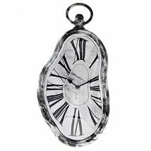 Modern Home Salvador Dali Inspired Melting Wall Clock - Marble - $19.71