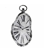 Modern Home Salvador Dali Inspired Melting Wall Clock - Marble - $19.71
