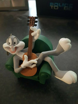 Extremely Rare! Bugs Bunny Playing Guitar in Chair Demons Merveilles Fig... - $346.50