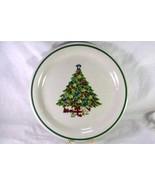 Gin Globe Christmas Tree Dinner Plate - $3.14