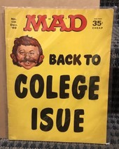 1969 December Mad Magazine #131 Back To Colege Isue Great Cover - $12.19