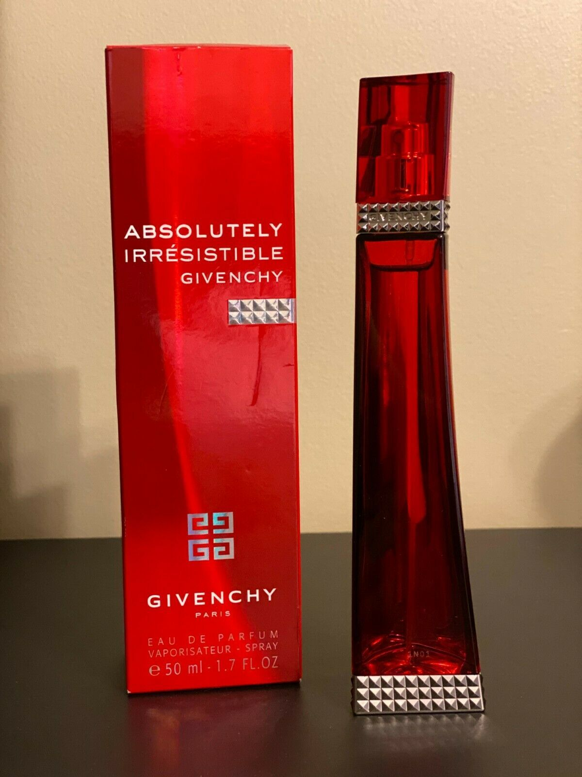 Aaagivenchy absolutely irresistible 1.7 oz tester perfume